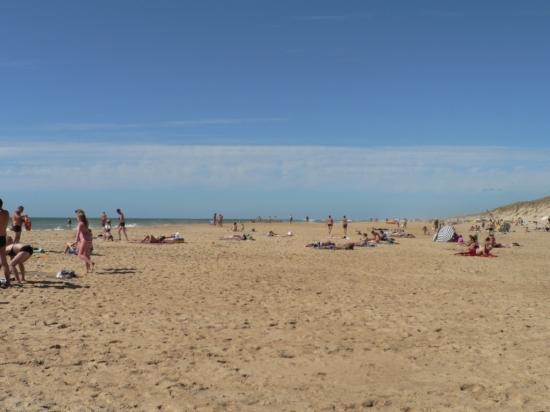 plage en été